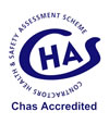 CHAS logo | Domestic and Commercial Building Services from Neoteric Contracts, Essex and London
